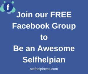 Join our free facebook group of selfhelpiness